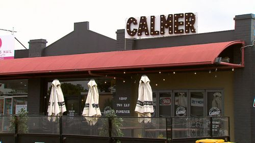 Unfortunate coincidence: The real Calmer Cafe in Aberfeldie.