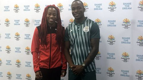 The fastest man and woman in the Commonwealth. (Tom Rehn/9NEWS)