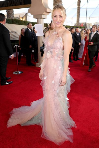 Kaley Cuoco attends the 23rd Annual Screen Actors Guild Awards at The Shrine Expo Hall on January 29, 2017
