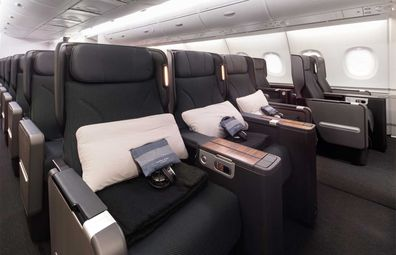 Qantas' upgraded A380 aircraft Business Suite