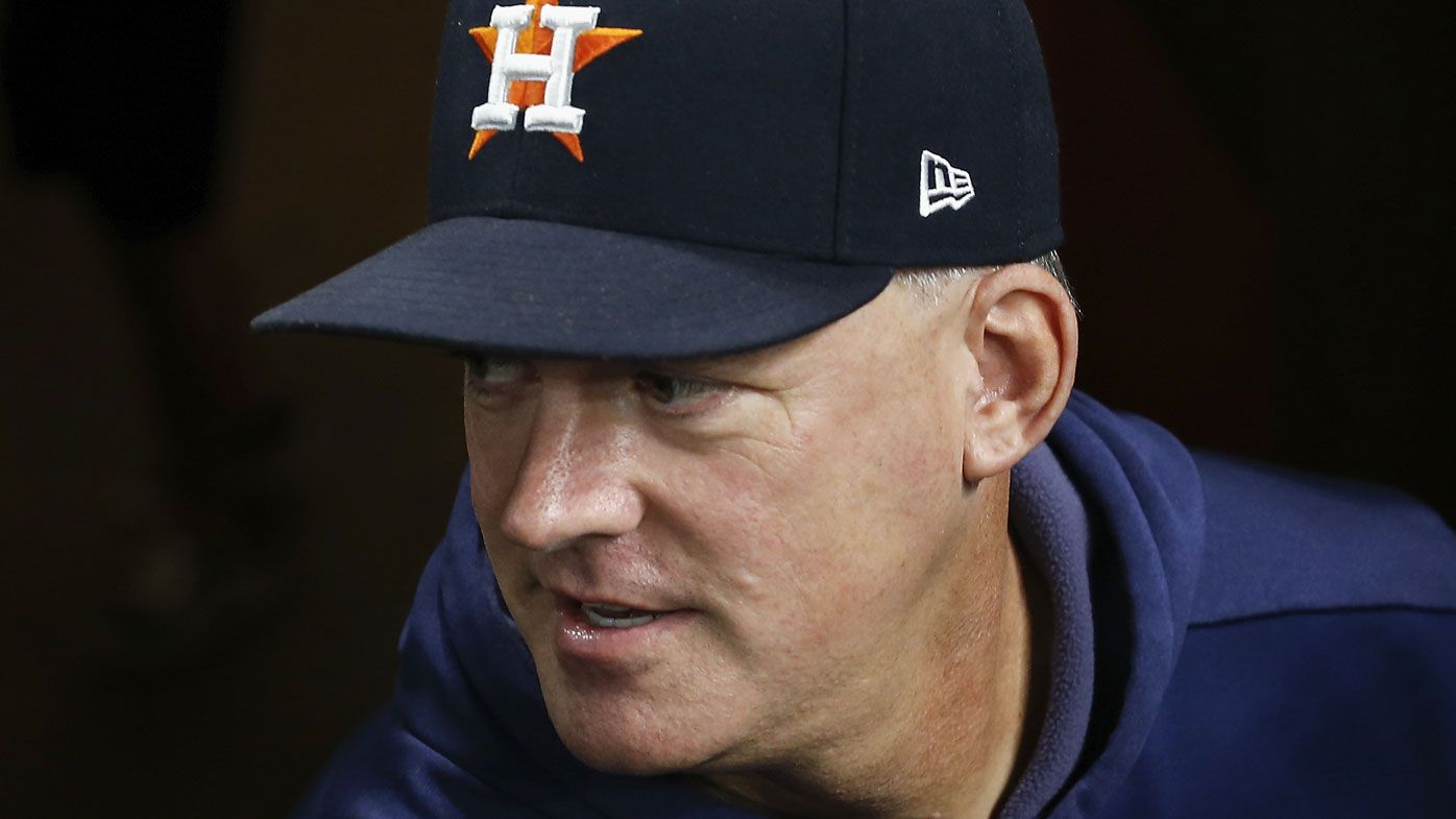 Houston Astros manager, GM fired over sign-stealing MLB cheating scandal