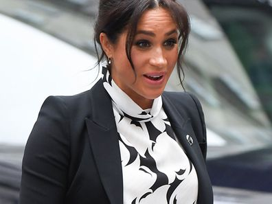 Meghan Markle out in London