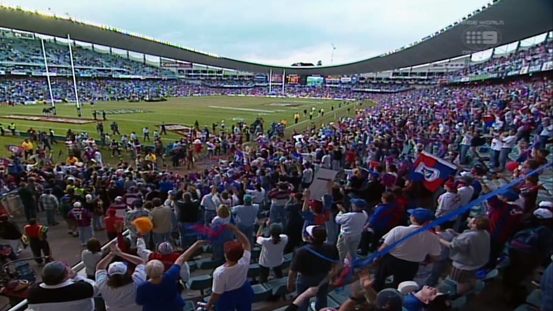 Just winging it: NRL's top grand final moments – Newcastle Knights V Manly Sea Eagles, 1997