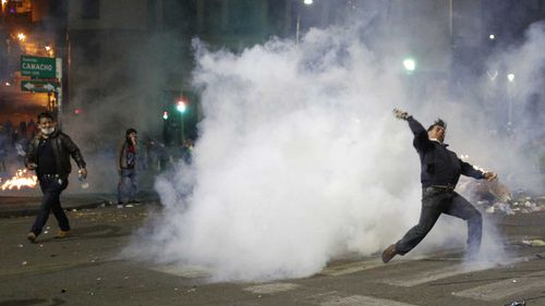 Evo Morales' controversial re-election prompted street protests in Bolivia.