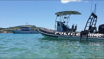 A search and rescue operation is this afternoon underway in the Moreton Bay region following the discovery of an unmanned boat.