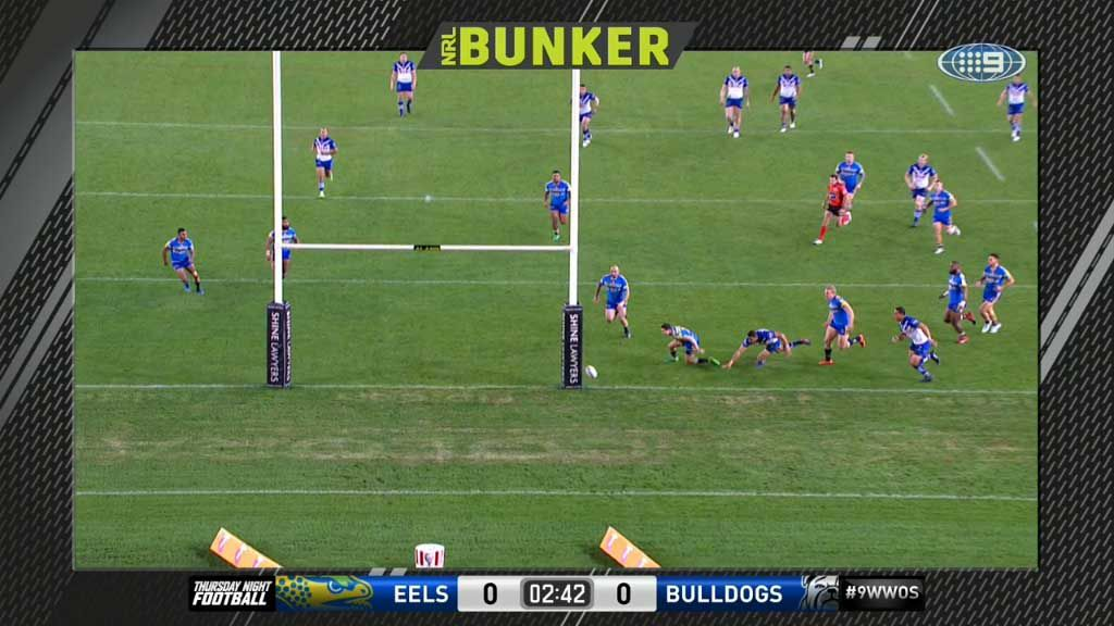 Bunker denies supposed penalty try