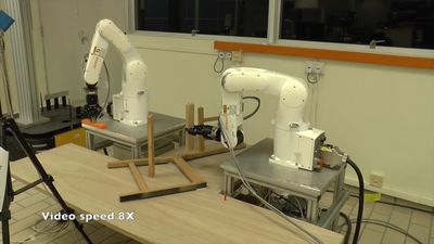 Rise of the machines: robots calmly assemble IKEA furniture in nine minutes