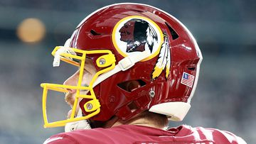 Case Keenum #8 of the Washington Redskins waits to go on the field