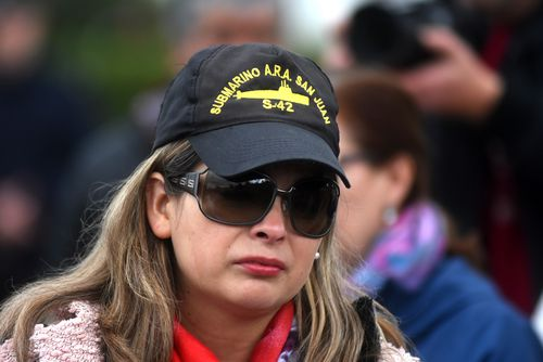 Relatives of the crew  now have to hope Argentine authorities are able to get foreign assistance.