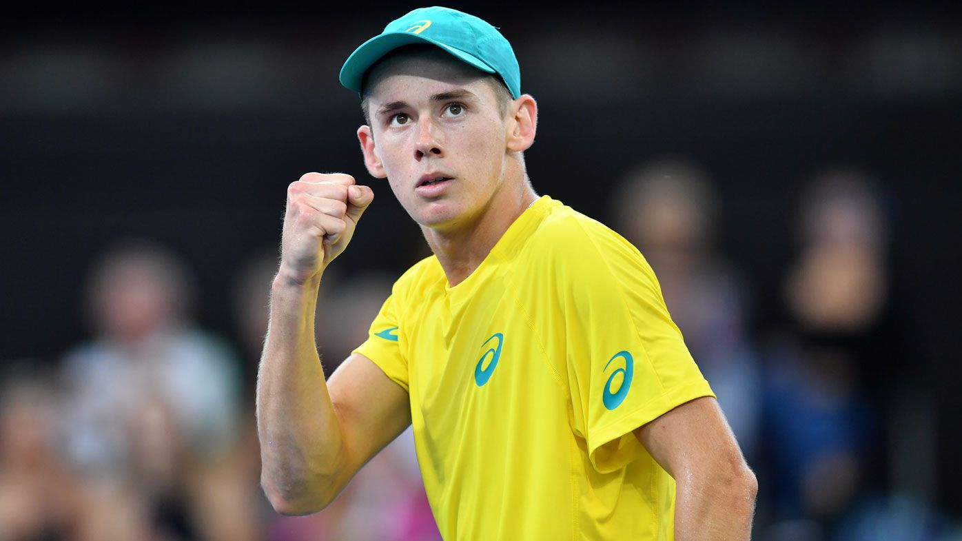 Aussie young gun Alex De Minaur gets Wimbledon wildcard