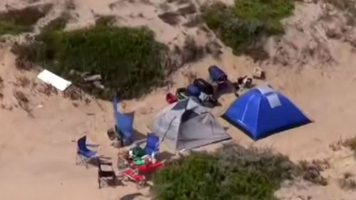 New search in backpacker beach attack
