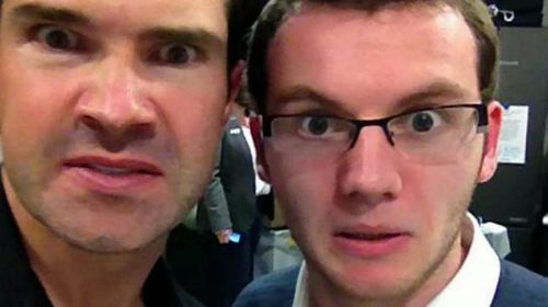 Stephen Sutton with comedian Jimmy Carr in February 2013. (Facebook)