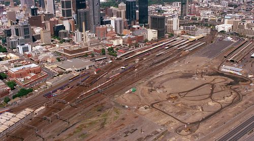 Construction on the venue began in October 1997 with the first event between Essendon and Port Adelaide played in March 2000.