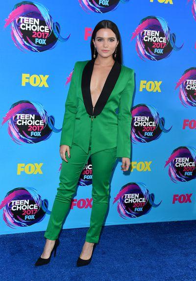 Katie Stevens in Stylandat the 2017 Teen Choice Awards, LA