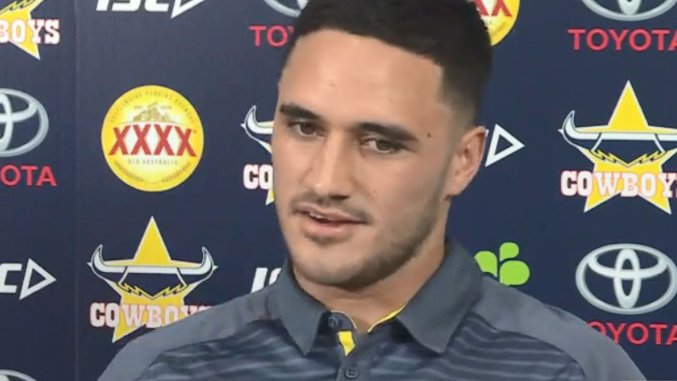 Valentine Holmes opens up about 'difficult decision' to abandon NFL for NRL return with Cowboys