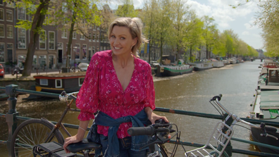 Cycling around Amsterdam