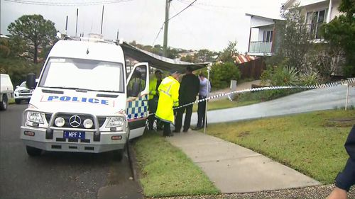Police are continuing to investigate the incident. Picture: 9News