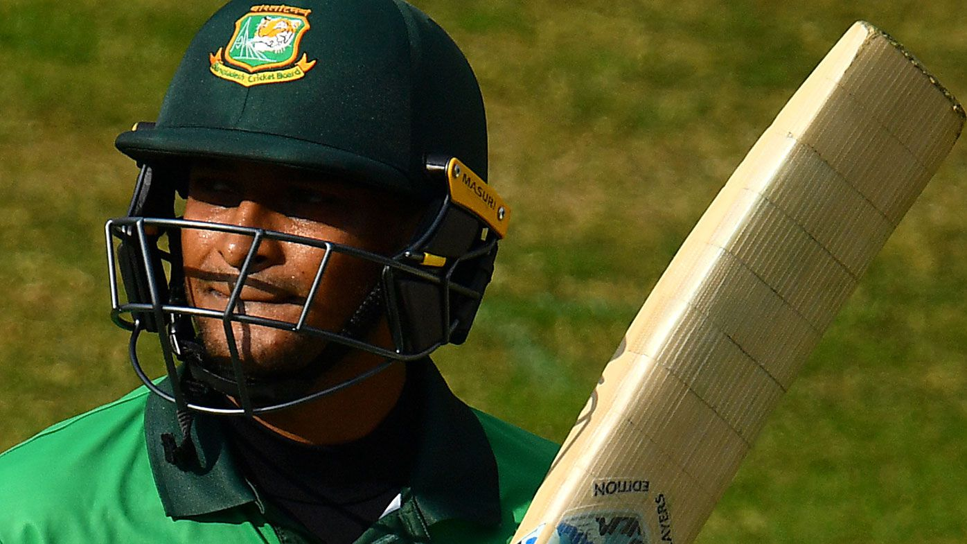 Bangladesh cricket star Shakib al Hasan banned by ICC for corruption
