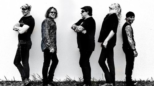 McLeod joined the band around 2012. Picture: The Screaming Jets