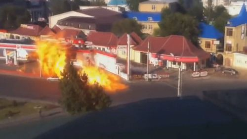 Service stations around the world are subject to explosive accidents.