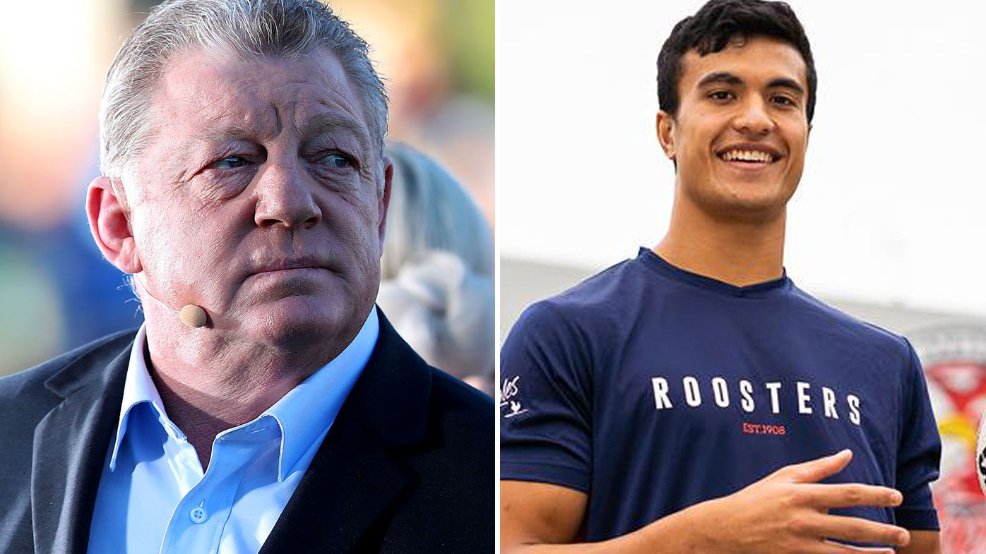 Phil Gould has big concerns if 17-year-old Joseph Suaalii is allowed to play. (Getty)