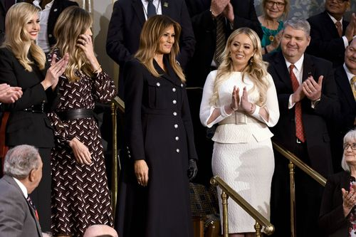 Melania Trump makes a fashion statement at State of the Union address