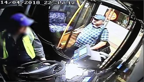 Colin Scott was on the 353 bus from Bondi Junction just minutes before he was attacked. (9NEWS)