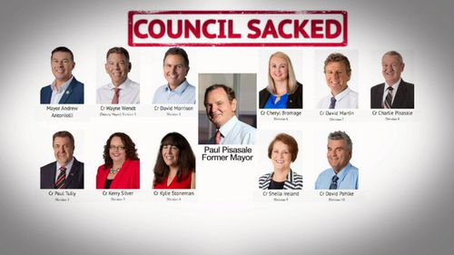 A dozen city councillors and officials have now become embroiled in the corruption scandal. Picture: 9News