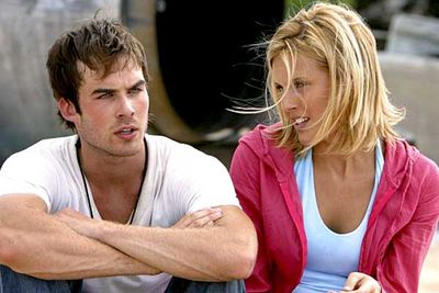 <B>The couple:</B> Ian Somerhalder and Maggie Grace earn an incest double. Not only did they date in real life, but their <I>Lost</I> alter egos, step-siblings Boone and Shannon, also had a weird incest thing happening on the show, too.