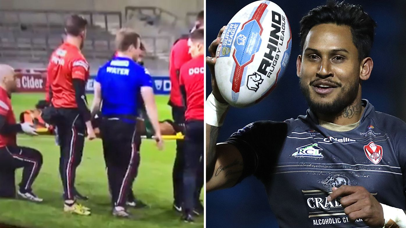 Ben Barba cleared of serious neck injury after being stretchered off playing in Super League