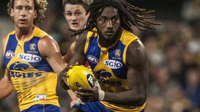 Nic Naitanui set to step back into West Coast Eagles' main group