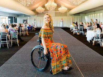 Disability advocate and model Lisa Cox.