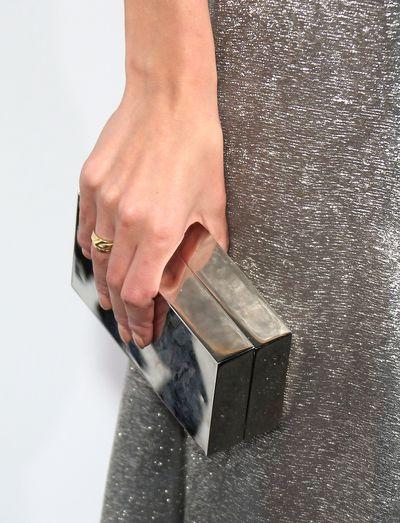 <p>&nbsp;Melanie Laurent's clutch</p>