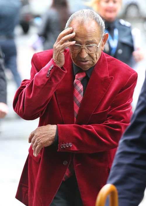 """Domenico Natale, 89, was sentenced to four-and-a-half years behind bars for stalking sex worker, """"Rica""""."""