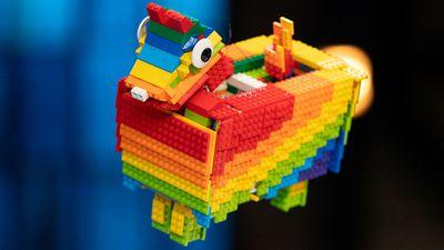 Piñata — One Hanging Brick challenge
