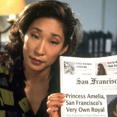Sandra Oh as Vice Principal Gupta: Then