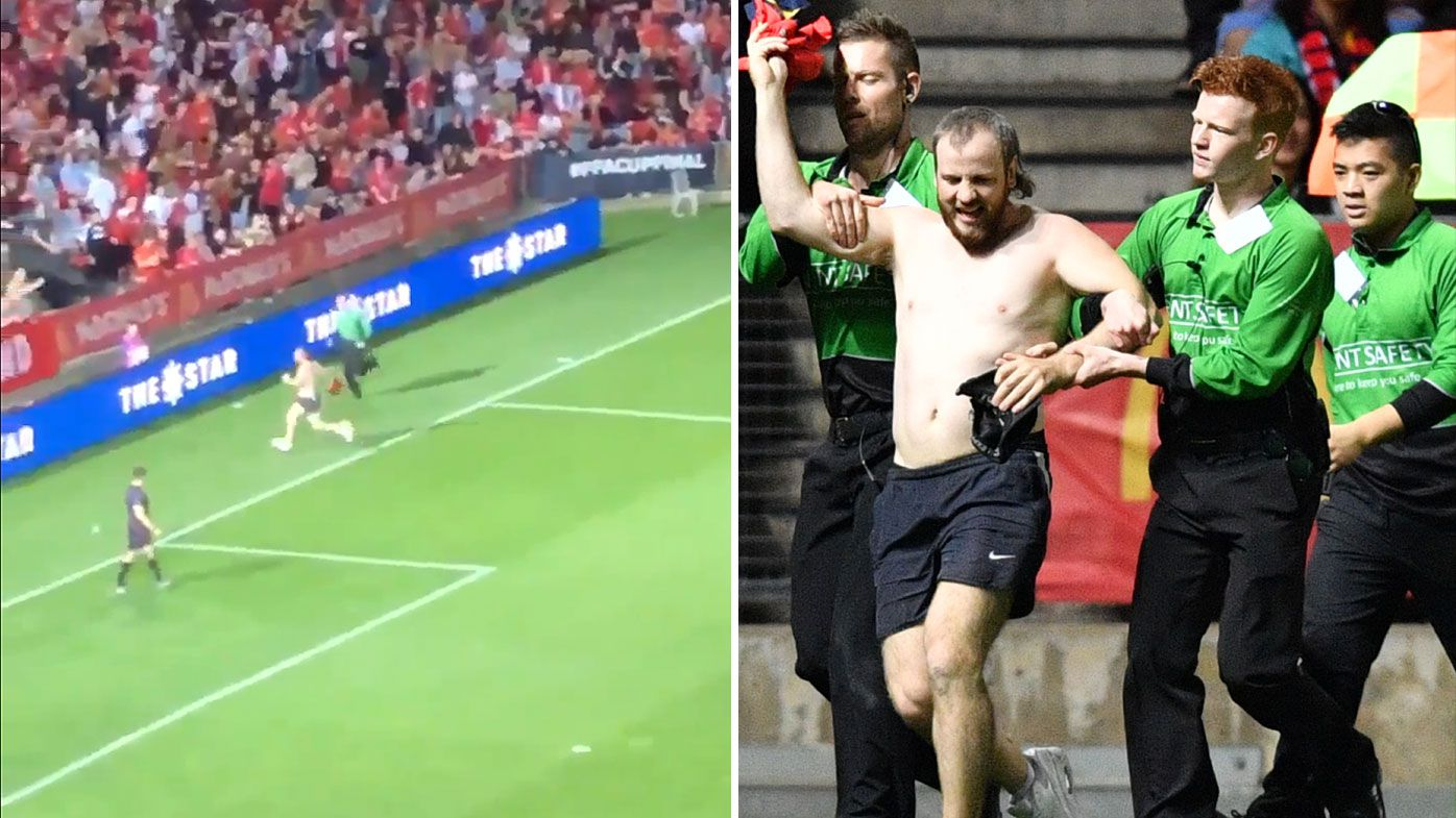 FFA Cup: Streaker caps off scintillating run with spectacular fail at final hurdle