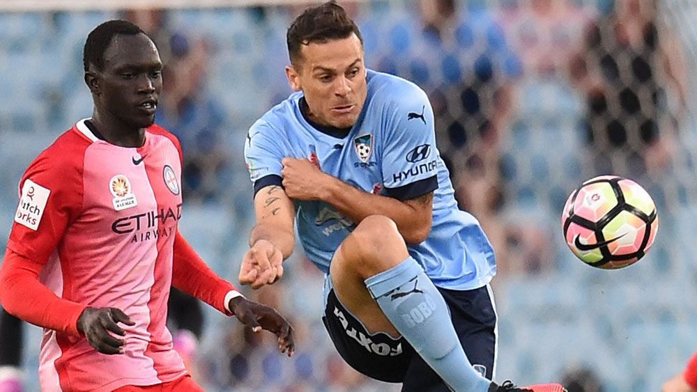 Sydney FC coach Graham Arnold is backing Bobo and the rest of his team to start finding the back of the net. (AAP)