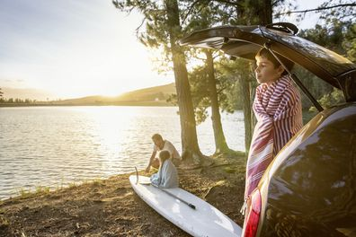 Road trips are top of the list for Aussies in 2021.