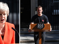 The internet goes wild for Theresa May's 'hot podium guy'