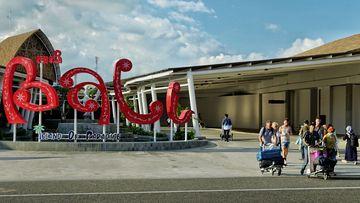 Bali Ngurah Rai airport domestic terminal. Coronovirus 16th March 2020