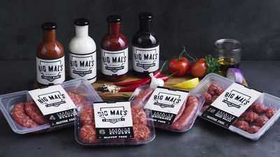 """<p><span style=""""text-decoration: underline;"""">NSW &amp; QLD: Mal Meninga launches a meat and sauce range</span></p> <p><span style=""""text-decoration: underline;"""">&nbsp;</span>Iconic rugby league player, captain and coach, Mal Meninga, has launched a new range of premium meats and sauces through IGA this week for QLD and NSW.</p> <p>It's called <a href=""""http://bigmals.com.au/"""" target=""""_top"""" draggable=""""false"""">Big Mal&rsquo;s First Grade</a> and it's all about premium Australian made products made with premium Australian ingredients. &nbsp;We think that's pretty cool at 9Honey Kitchen, because when an Australian sports icon supports Australian food, we think that's a good thing. The products are available at grocery markets, food service outlets and direct to community events and fundraisers, in line with Mal&rsquo;s support of local communities.</p> <p>Sauces and condiments include: Tomato Legend, BBQ Sauced, Chilli Kick, and Outback Ranch, While the meat range has sourced only premium grass-fed Australian beef for its all-beef sausages, burgers, Mini-Mal's sliders and meatballs.&nbsp;&nbsp;And all the products are gluten free. So fire up that sports day barbecue.</p>"""