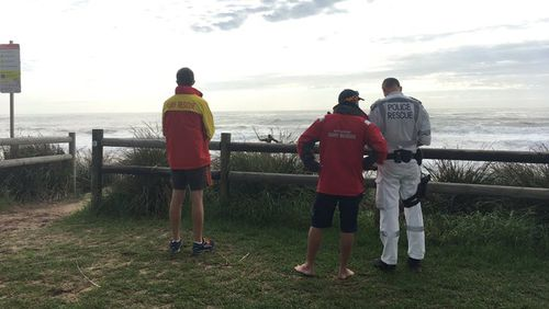 The body of a man has been found on a Wollongong beach.