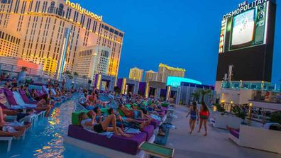 The pools offer both family-friendly and adults-only programming.