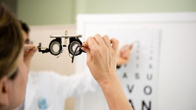 An annual eye test can detect the disease.