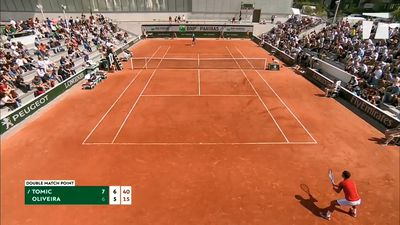 Tomic wins through to French Open