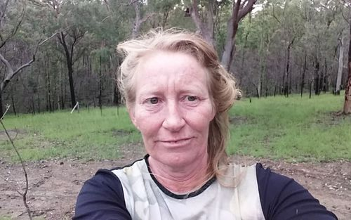 Ms Pollock lives off the grid in the remote bush of northern NSW.
