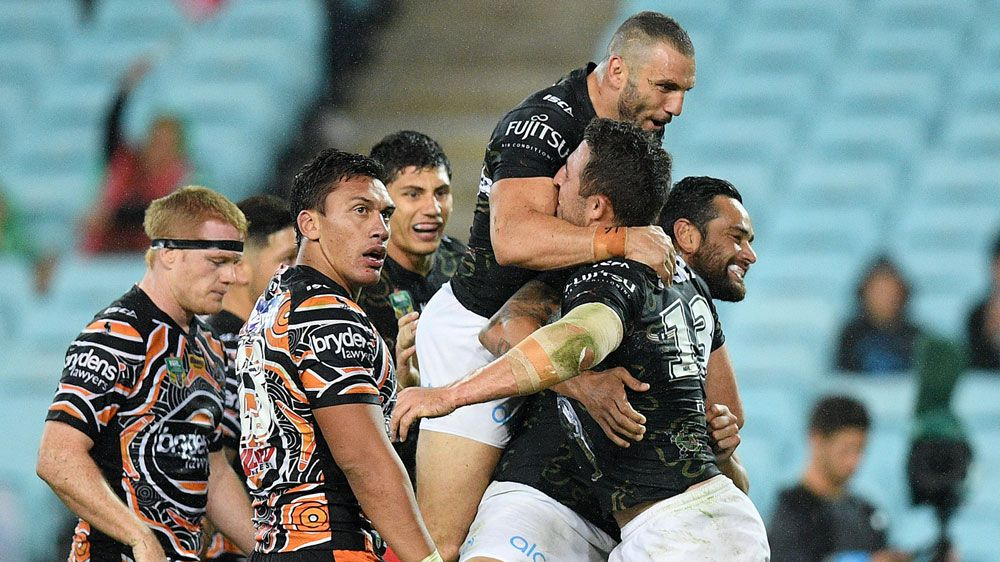 Farah stars in Souths' NRL win over Tigers