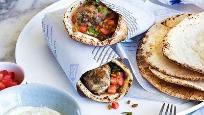 "Recipe: <a href=""http://kitchen.nine.com.au/2016/05/16/17/52/george-calombaris-sheftalies-cypriot-souvlaki"" target=""_top"">George Calombaris: Sheftalies (Cypriot souvlaki)</a>"