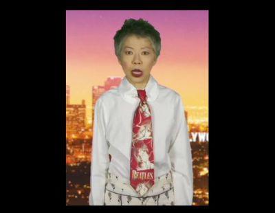 Lee Lin Chin's <em>Annie Hall</em> moment